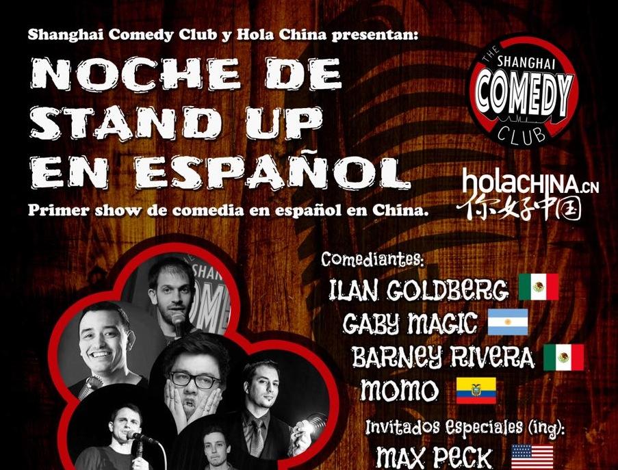 stand up mitad español,
